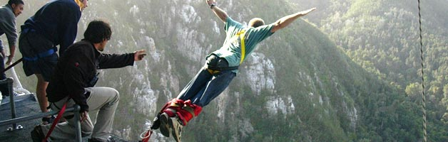 Bungee Jumping at Bloukrans