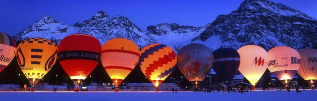 Hot Air Ballooning for Valentines Day