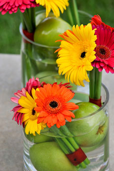 Gerbera Daisy Arrangements for Weddings