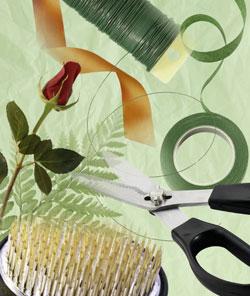 Florist Tools - Scissors & Twine