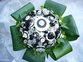Bridal Bouquet - Buttons