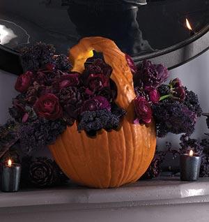 Halloween Party Ideas - Pumpkin Basket
