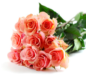 Valentines Day Flowers - Pink-Roses