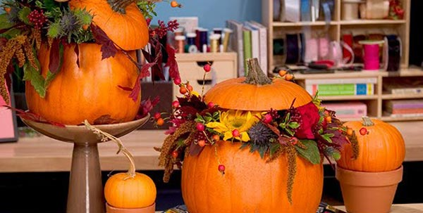 Extraordinary Halloween Floral Arrangement Ideas